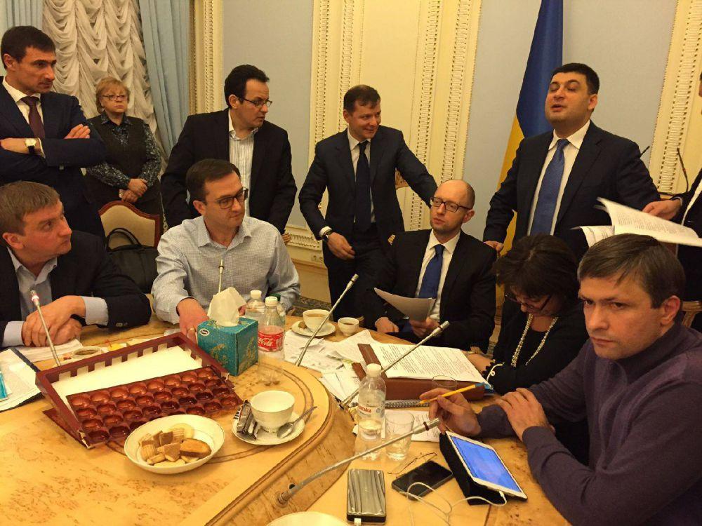 Андрей Лозовой: «Такое впечатление, что заседание Совета коалиции не закончится никогда...»