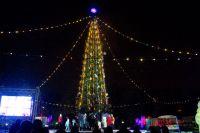 Новый год можно будет встретить возле главной городской ёлки.