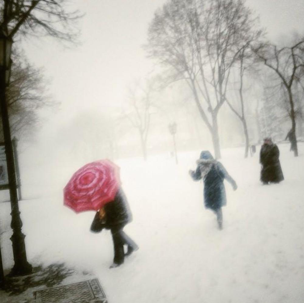 Снегопад в Одессе