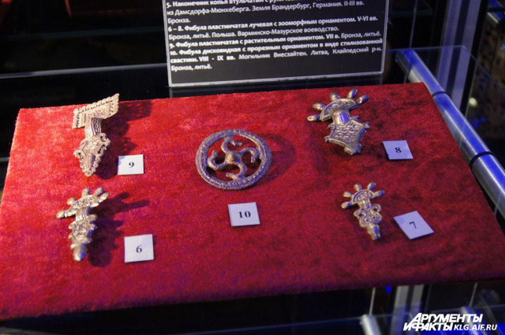 До начала штурма Кёнигсберга в апреле 1945 года музейные раритеты  были спрятаны в тайниках.