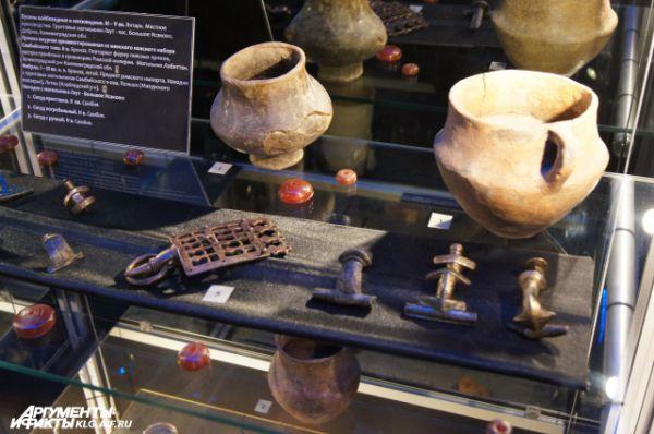 Фибулы, бусины и погребальные горки. II-V век н.э.