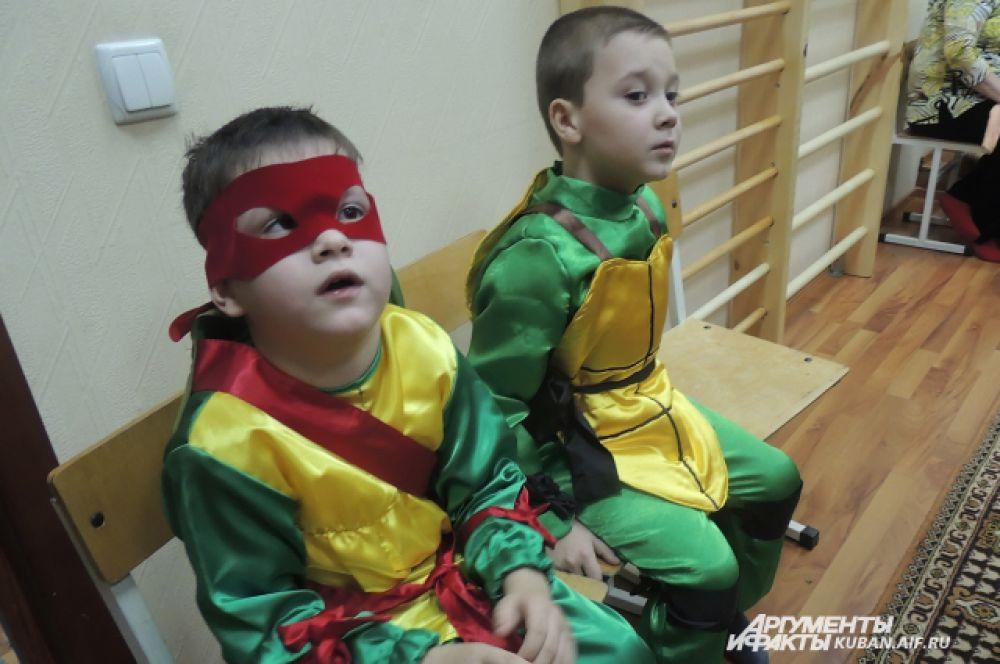 Костюм черепахи-ниндзя оказался самым популярным на празднике.