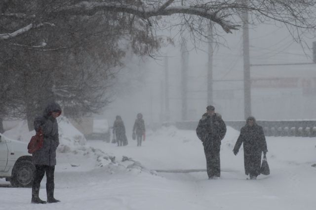 Метель в Одессе