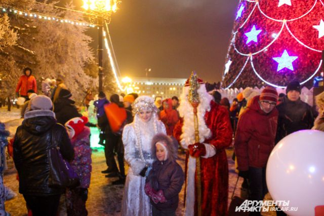 В новогоднюю ночь погода будет мягкой по-сибирски.