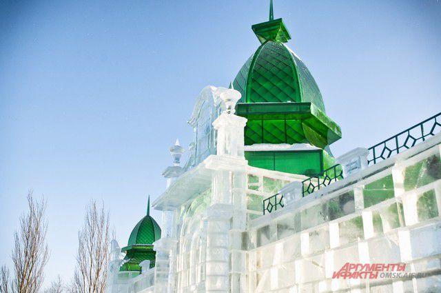 В ледовом городке будет уменьшенная копия Любинского проспекта.