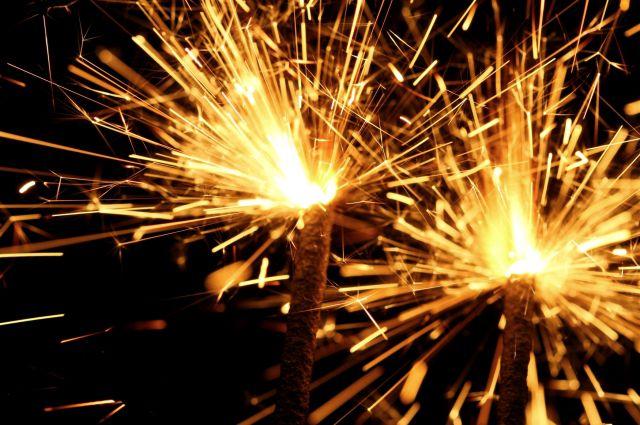 В новогоднюю ночь в Рязани