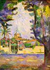 Во время учебы у Постава Моро в Школе изящных искусств Анри Матисс познакомился с начинающими живописцами Альбером Марке и Жоржем Руо. Позже состоялось его знакомство с Полем Синьяком, виднейшим последователем основателя дивизионизма Жоржа Сёра.