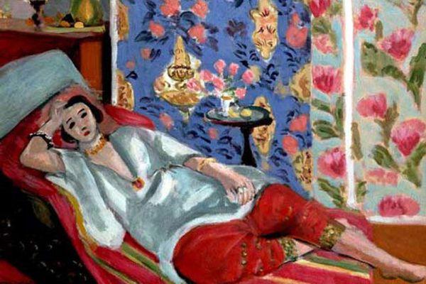 В 1941 году Матисс перенёс тяжелую операцию на кишечнике. Ухудшение здоровья вынудило его упростить свой стиль. Чтобы сберечь силы, он разработал технику составления изображения из обрезков бумаги (так называемые Papiers decoupes), которая давала ему возможность добиться долгожданного синтеза рисунка и цвета. В 1943 году он начал серию иллюстраций к книге «Джаз» из раскрашенных гуашью обрезков (закончена в 1947). В 1944 году его жена и дочь были арестованы гестапо за участие в деятельности Сопротивления.