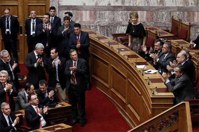 Греческий парламент в Афинах.