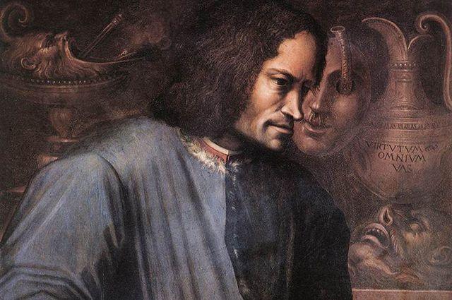 Дж. Вазари. Портрет Лоренцо Медичи. Флоренция, Галерея Уффици.