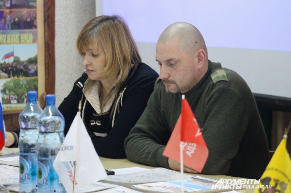 На закрытие вахты присутствовал Сергей Мачинский. Представитель российского военно-исторического общества