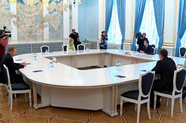 Заседание трехсторонней группы в Минске