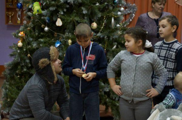 Дети рассказывали стихи и просто делились историями из жизни
