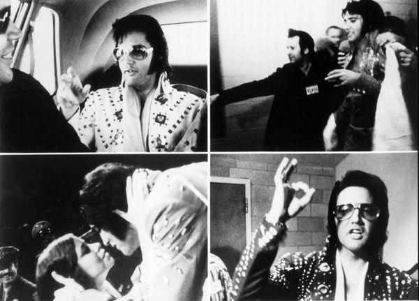 С 1970 года Элвис всегда носил темные очки. Фанаты думали, что – это часть имиджа. На самом деле Пресли одевал их, чтобы скрыть обнаруженную врачами глаукому левого глаза.