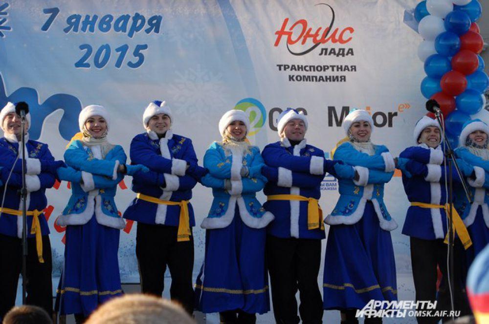 Рождественский полумарафон 2015.
