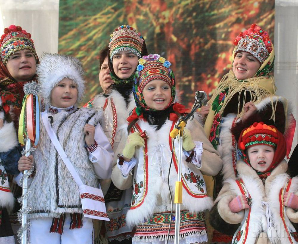 Как отмечали Рождество в Украине