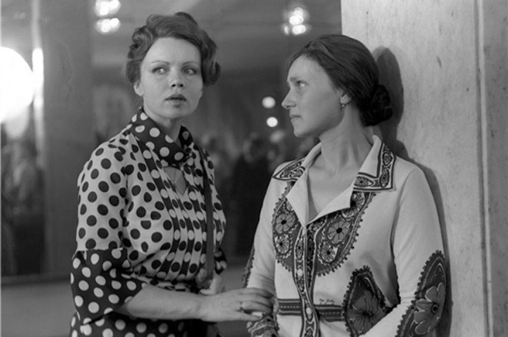 С Евгенией Глушенко в фильме «Впервые замужем».
