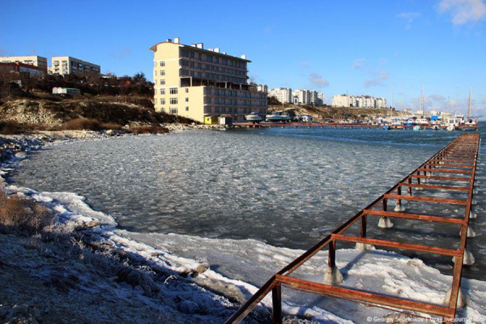 Аномальные морозы в Крыму