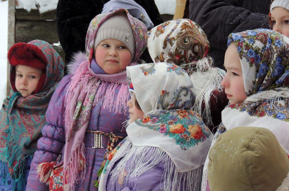 Дети - самые главные участники праздника.