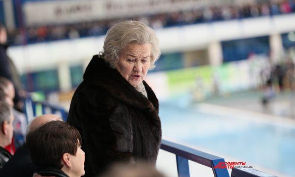 Лидия Скобликова,шестикратная олимпийская чемпионка