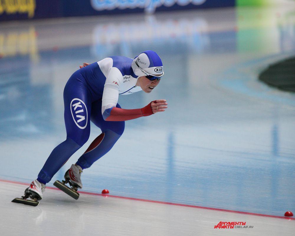 Российская конькобежка Ольга Граф