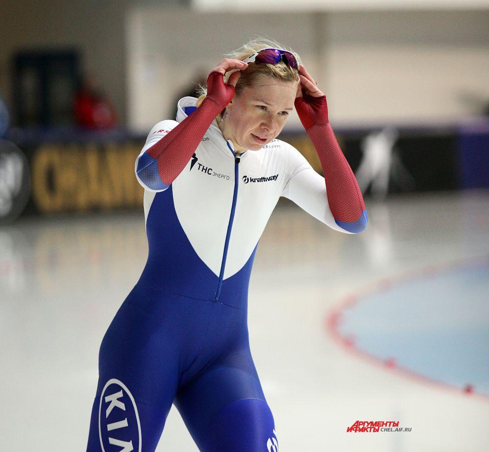 Российская конькобежка Скокова Юлия