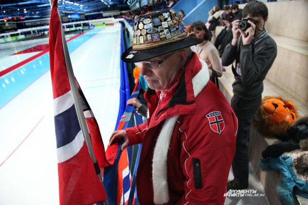 Болельщик из Норвегии