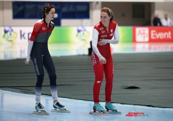 Спортсмены из Чехии и Польши