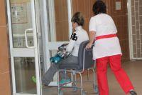В эту зиму поступивших в болницы Ростова с переломами значительно меньше