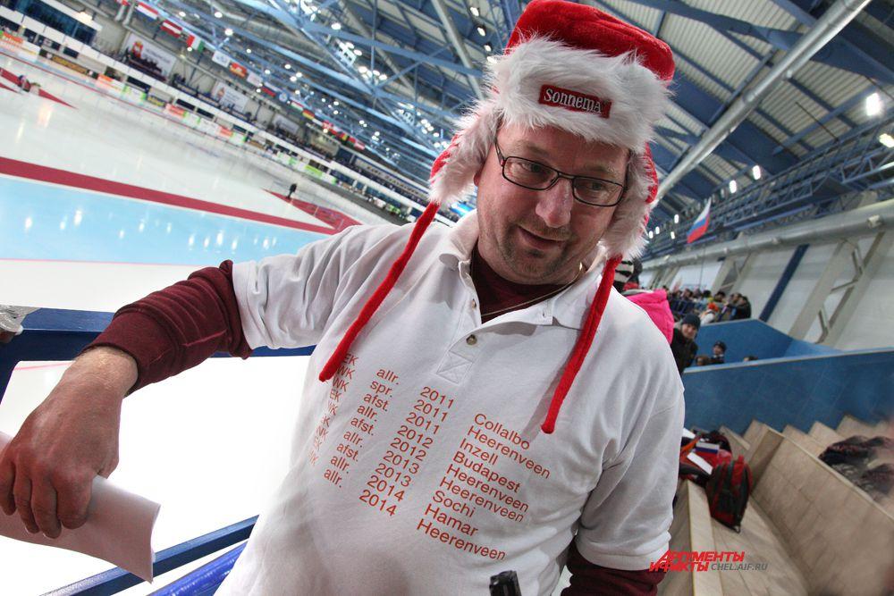 В Челябинск приехали любители конькобежного спорта из разных стран