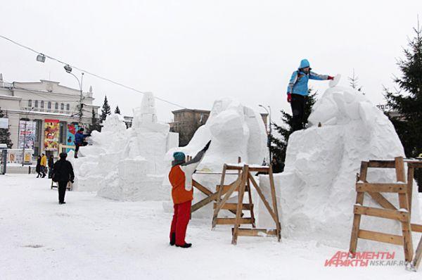 Темой фестиваля стали русские сказки, литературные произведения.