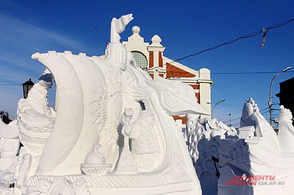 Скульптура-победитель одна из самых удивительных на фестивале.