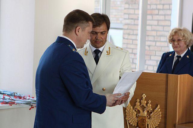 Во время церемонии награждения.