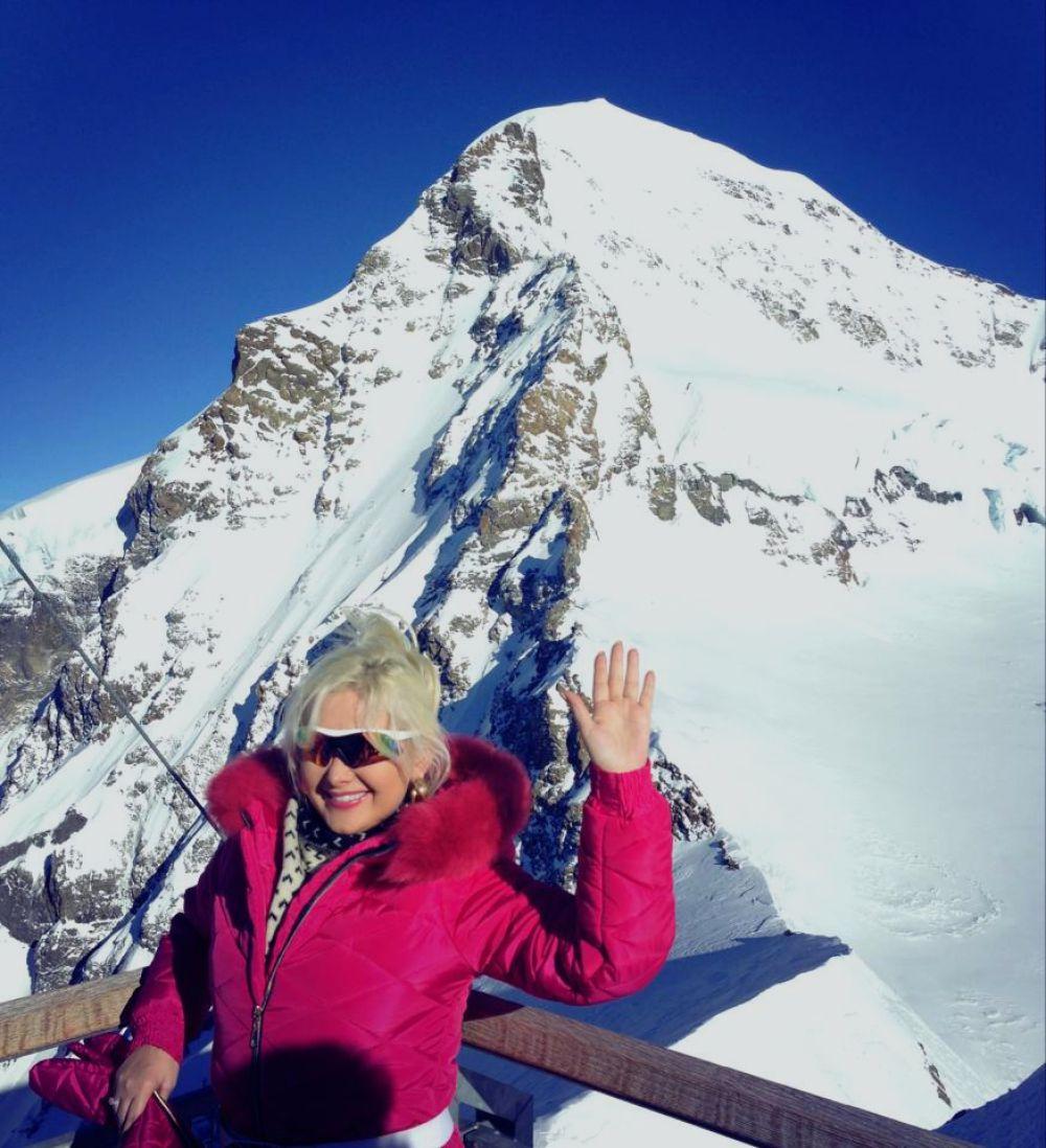 Екатерина Бужинская в Швейцарии