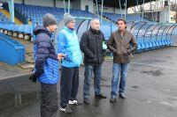 Сергей Юран (справа) провел первую тренировку «Балтики».