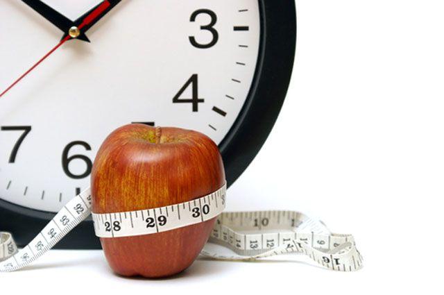 Определенные часы помогает похудеть