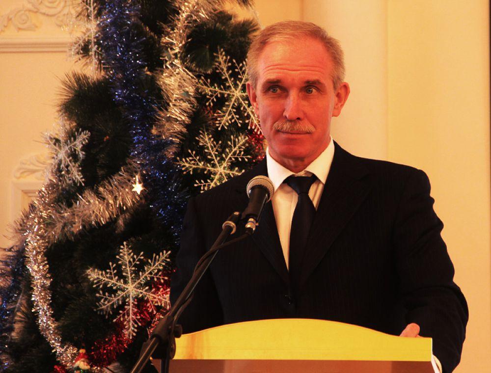 Церемонию открыл губернатор Сергей Морозов