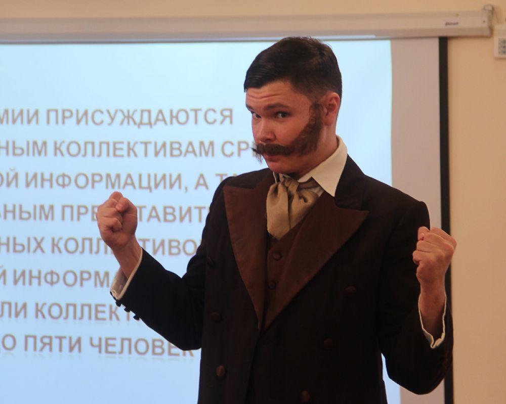 В мероприятии приняли участие классики отечественной литературы
