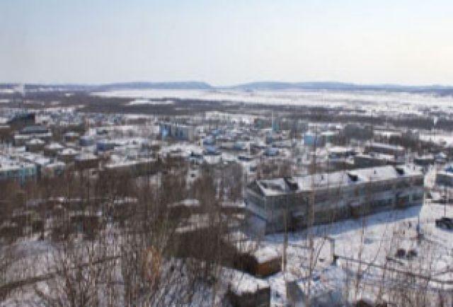 Село Тигиль.