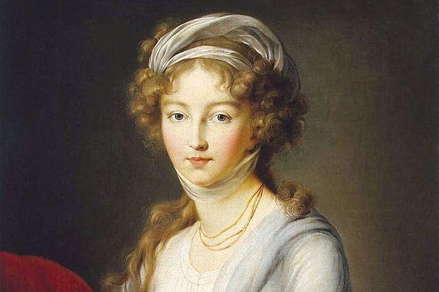 портрет работы Мари Элизабет Луиза Виже-Лебрён