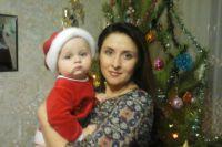 Наталья Чебыкина с сыном.