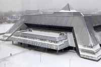 Ледовый дворец в Иркутске.