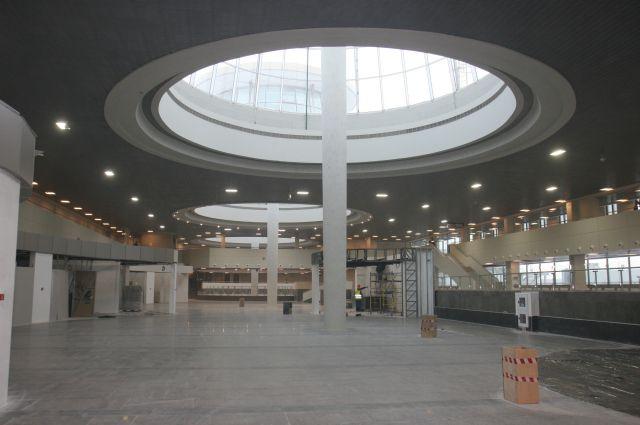 Общая площадь терминала увеличилась на 43%.