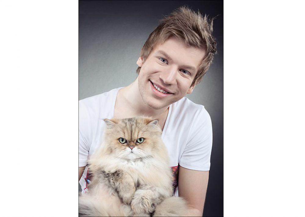Иван Дорн и его «семейный» кот