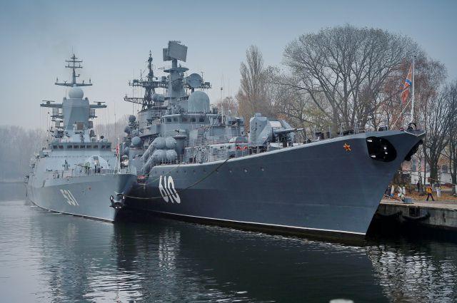 На причале в Балтийске смогут швартоваться корабли  различных классов.