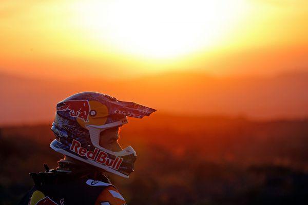 Марк Кома перед 2-м этапом ралли «Дакар-2015».