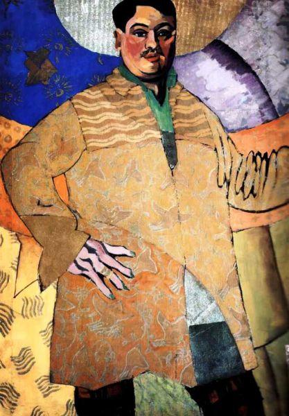 Увлекшись кубизмом, Лентулов отправился в Париж и поступил в «Академию живописи Ла Палетт», а его преподавателями стали приверженцы доктрины кубизма Ле-Фоконье, Метценже, Сегонзак.
