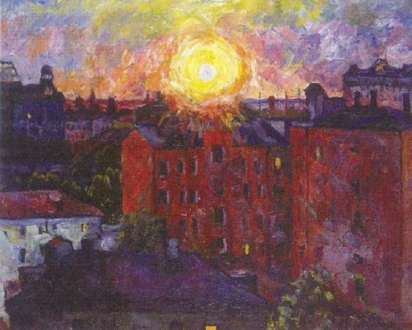В 1941 году художник был эвакуирован в Ульяновск, но через год вернулся в Москву, где 15 апреля 1943 года умер. Его похоронили на Ваганьковском кладбище.