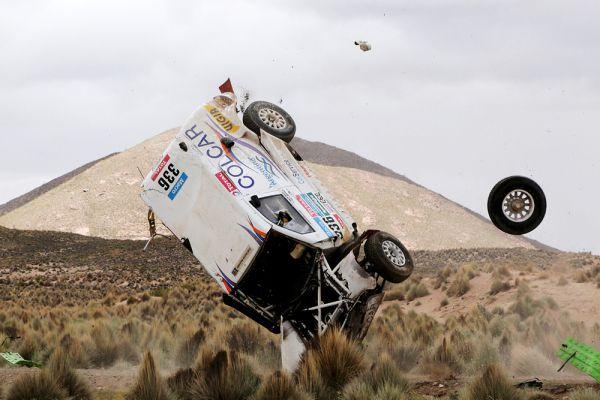 Хуан Мануэль Сильва и Пабло Систерна. 7-й этап ралли.