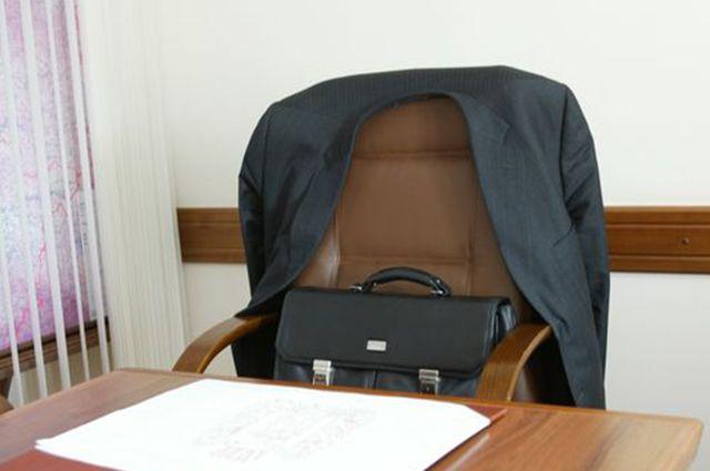 Стол уволенного чиновника